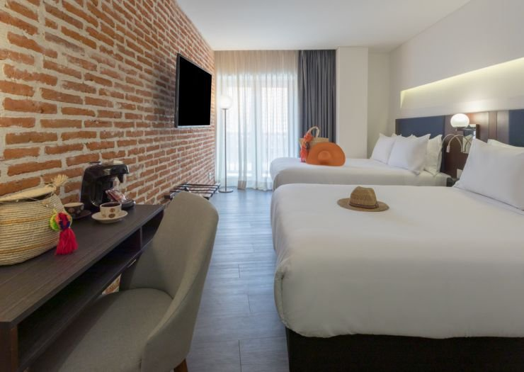 Superior twin room santa catalina hotel  cartagena de indias
